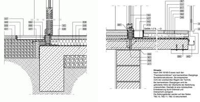 barrierefreie balkon terrassentueren details als