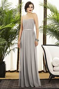 long light grey bridesmaid dress wedding dresscab With long grey dress for wedding