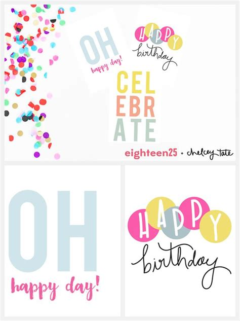 printable birthday note cards gift ideas