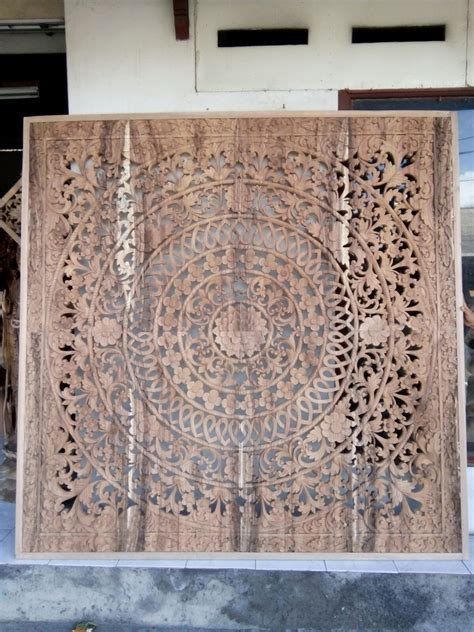 hand carved headboards  decoration supplier
