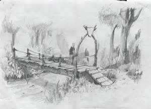 Bridge to Terabithia Drawing Idea