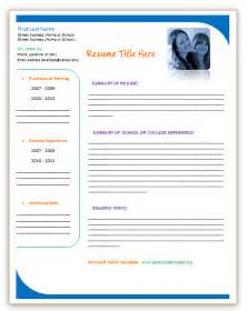 Free Resume Templates Microsoft Word