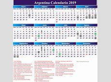 Calendario Junio 2019 Para Imprimir Argentina