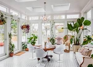 conseils d39amenagement de votre jardin d39hiver With chambre bébé design avec plantes fleuries hiver