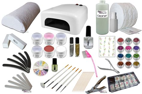 Uv Gel Starter Kit Uv Lamp Set With Lots Of Accessories