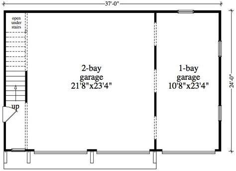 detached garage floor plans 1 bedroom 1 bath cabin lodge house plan alp 096z