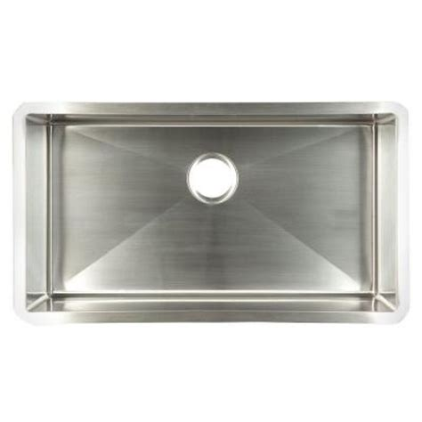 Home Depot Kitchen Sinks Stainless Steel by Frankeusa Undermount Stainless Steel 29x18x10 Single Bowl