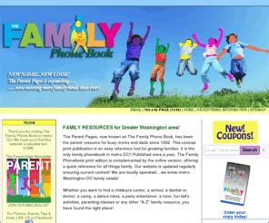 theparentpages the family phonebook metro dc your 971   theparentpages.com