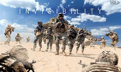 Soldiers Invisible Technology Forces Armed Armies States