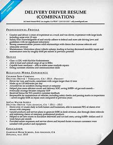 combination resume samples resume companion With driver resume sample