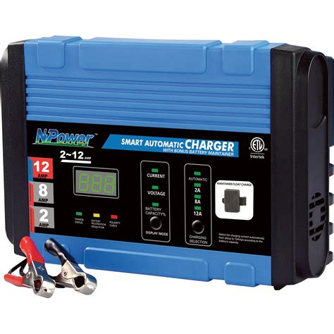 Npower Automatic Battery Chargermaintainer €� 12 Volt, 28