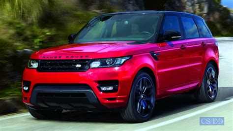 burgundy range rover 2016 2016 land rover range rover sport hst wallpapers images