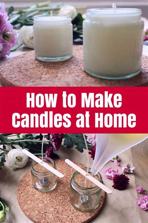 How To Make Candles At Home • The Crafty Mummy