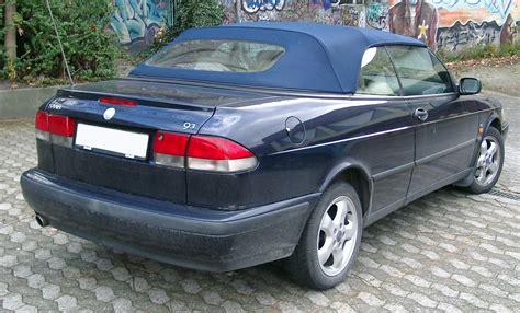 saab 93 cabrio file saab 9 3 cabrio rear 20071109 jpg