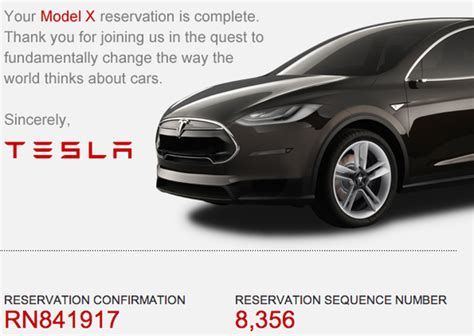 Tesla Model X Reservations Approach 10,000 Units In Us