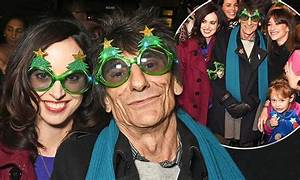 Ronnie Wood parties at Stella McCartney's Christmas party ...