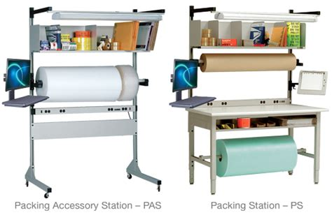packaging  assembly tables photo gallery