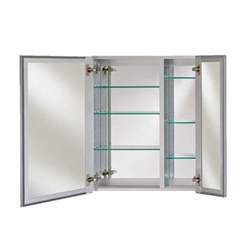 afina broadway 30 quot wall mount mirrored medicine cabinet
