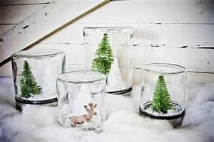 Figuren Für Schneekugeln : weihnachtsdeko selber machen 6 einfache bastelideen ~ Frokenaadalensverden.com Haus und Dekorationen