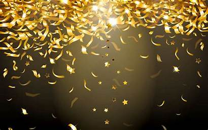Glitter Gold Sparkle Wallpapers Background 4k Confetti