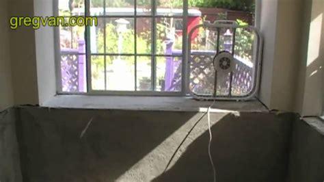 fan  window  ventilation bathroom remodeling ideas