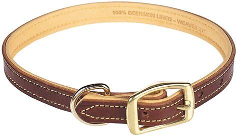 Deer Ridge Leather Dog Collar Weaver Leather  Dog Collars