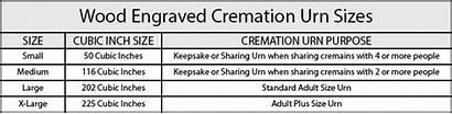Cremation Urn Urns Poem Sizes Wood Heart