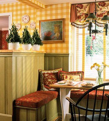 yellow country kitchens ideas  pinterest red