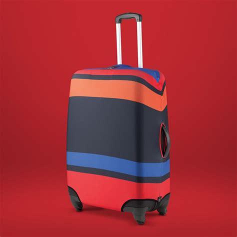 housse color blocking housse de protection de bagages valises trolleys intelligente et