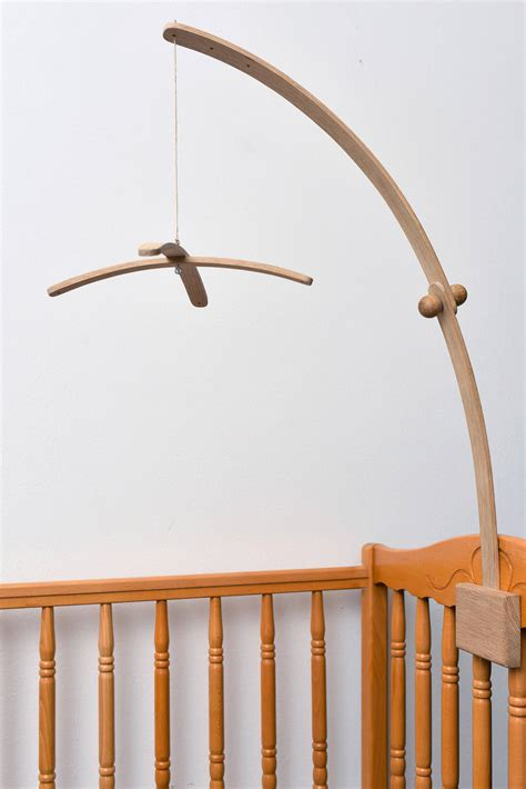 crib mobile arm baby crib wooden oak mobile arm baby mobile stand nursery