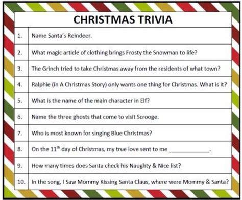 Christmas Trivia  Christmastrivia  Pinterest  Trivia And Craft