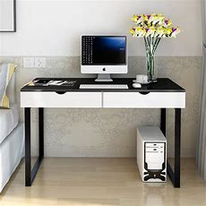 Modern Stylish Computer&laptop Desk With Drawers, Many