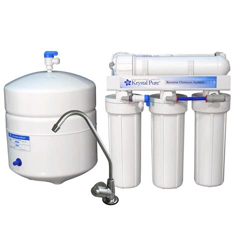water filtration system for kitchen sink shop krystal pure triple stage reverse osmosis under sink