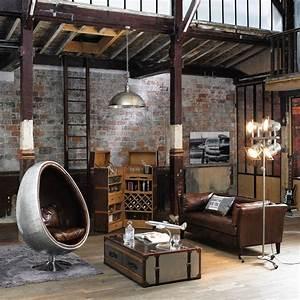 Table Basse Style Industriel : comment int grer la table basse style industriel dans le salon ~ Melissatoandfro.com Idées de Décoration