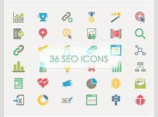 36 SEO Vector Icons Freebie on Behance
