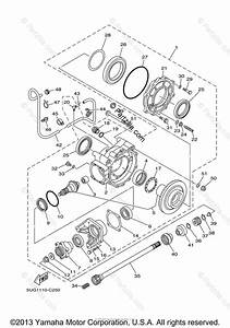 Yamaha Side By Side 2005 Oem Parts Diagram For Drive Shaft