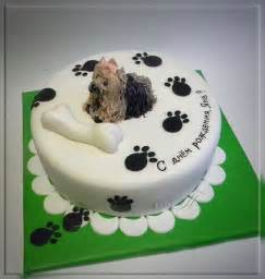 Yorkshire Terrier Birthday Cake