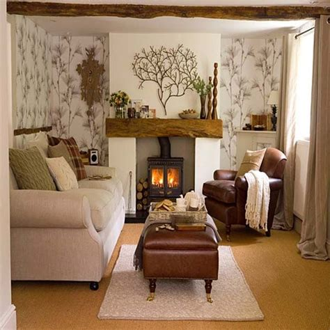Small Living Room Design With Fireplace At Modern Home Designs