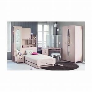 Armoire Pont De Lit : armoire pont de lit enfant rose avec miroir 1 porte 5 ~ Teatrodelosmanantiales.com Idées de Décoration