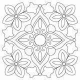 Bandana Block Coloring Quilt Quilting Embroidery Patterns Stencils Sweetdreamsquiltstudio Mandala Printable Blocks Bordado Mosaic Tile Adult Aplique Melhores Patchwork Dot sketch template
