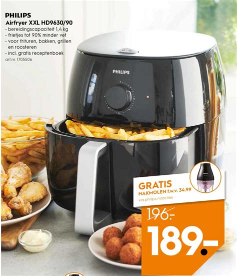 philips airfryer xl hd  retour  korting op