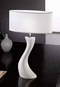 Moderne Tischleuchten : kolarz tischleuchte dali keramikleuchte wei tischlampe ebay ~ Pilothousefishingboats.com Haus und Dekorationen