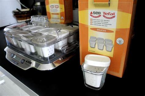 pot yaourt seb multi delice recettes yaourti 232 re seb multi d 233 lices 12 pots