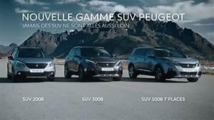 Gamme Peugeot 5008 : nouvelle gamme suv peugeot youtube ~ Medecine-chirurgie-esthetiques.com Avis de Voitures