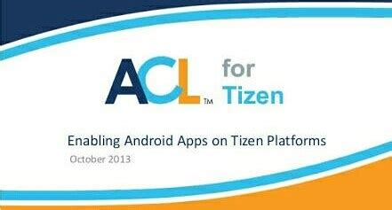 best acl for tizen supported apps for tizen phones tizenhelp