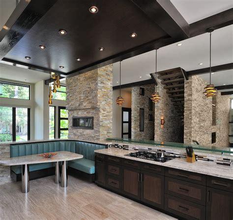cuisine design avec ilot grande cuisine avec ilot central cuisine equipee moderne