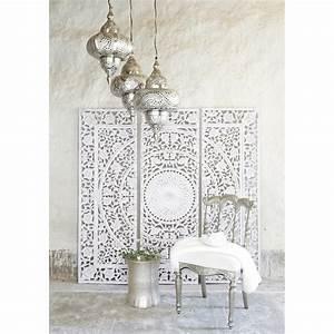 Indischer Stuhl Silberfarben SHIVA Products I Love