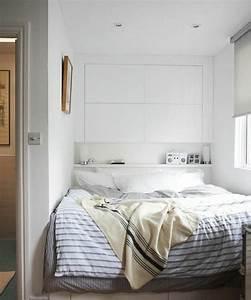 Meuble Mural Chambre : t te de lit avec rangement pour une chambre plus organis e ~ Teatrodelosmanantiales.com Idées de Décoration