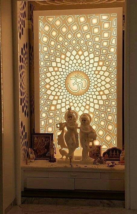 corian temple pooja room design pooja room door design