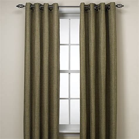 120 inch curtain panels buy reina 120 inch grommet top window curtain panel in